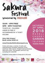 Sakura Festival A4 Poster